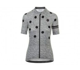 Agu Agu Shirt Km Ess Dot Dms Grey/black M