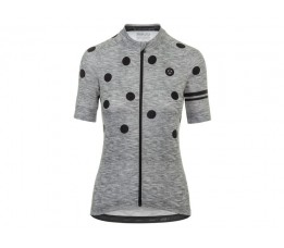 Agu Agu Shirt Km Ess Dot Dms Grey/black L