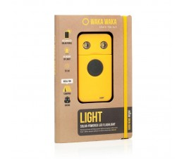 Waka-waka Power Solar 2200mah 150 Hrs Light Geel